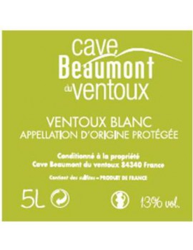 BAG-IN-BOX BLANC 5 L