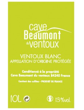 BAG-IN-BOX BLANC 10 L